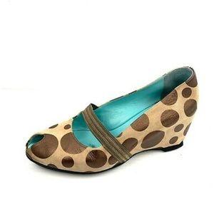 THIERRY RABOTIN  Cassie Wedge Heels Size 37.5